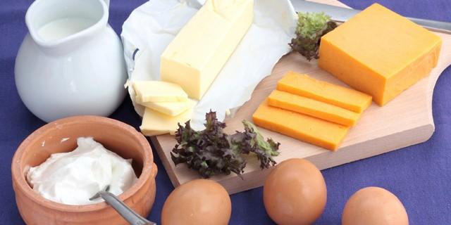 Diary Products En-Ru — Английские слова на тему Молочные продукты