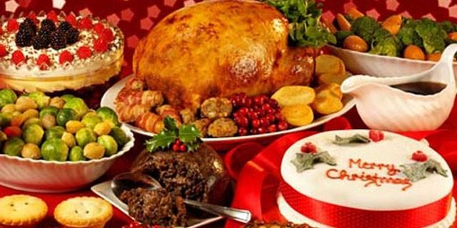 Food at Christmas En-Ru — Английские слова на тему Еда на Рождество