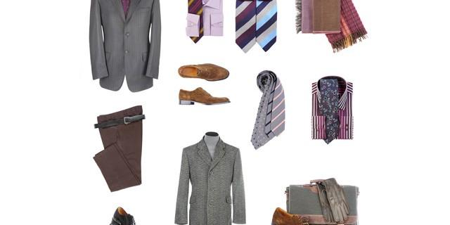 Men's Clothes En-Ru — Английские слова на тему Мужская одежда