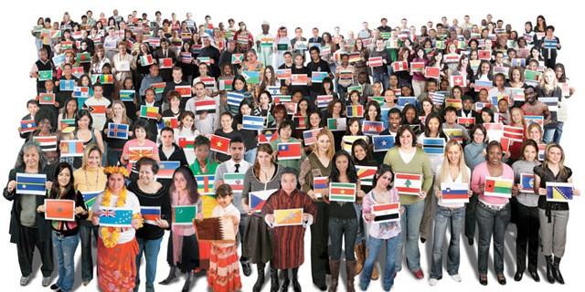 Nationalities En-Ru — Английские слова на тему Национальности