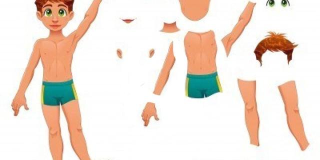 Parts of the Body En-Ru — Английские слова на тему Части тела