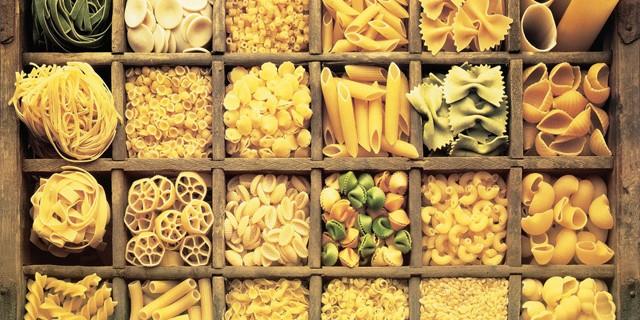 Pasta Types En-Ru — Английские слова на тему Типы макарон