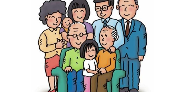 Relatives En-Ru — Английские слова на тему Родственники