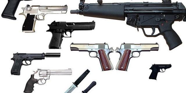 Weapons En-Ru — Английские слова на тему Оружие