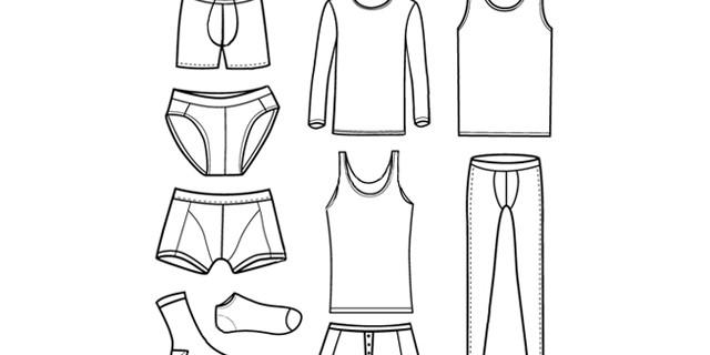 Underwear En-Ru — Английские слова на тему Нижнее белье