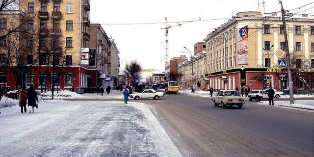 Urban street FR-RU — французские слова на тему Городские улицы