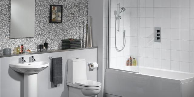 Das Badezimmer DE-RU — немецкие слова на тему Ванная комната