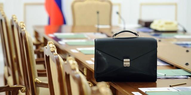 Das Kabinet DE-RU — немецкие слова на тему Правительство