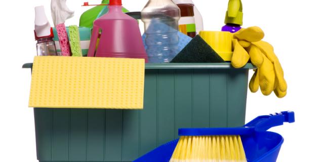 Die Reinigungs DE-RU — немецкие слова на тему Средства для уборки