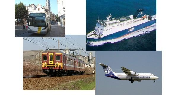 Arten des Verkehrs DE-RU — немецкие слова на тему Виды транспорта